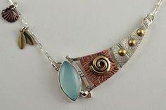 Artisan Metalsmith Jewelry by DeborahCloseDesigns on Etsy