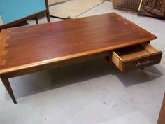 Lane Acclaim Coffee Table   Rare With Drawer   So Glad We Went Back To The