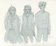 The Silver Trio<3 Burdge.