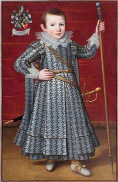 Anonymous, Portrait of five-years-old Johannes van der Laen, 1622 - Leeuwarden, Fries Museum