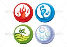 Similar Images, Stock Photos & Vectors of The four elements of nature: air, earth, fire, water. Earth Air Fire Water, Earth Wind & Fire, 4 Elements, Elements Of Nature, Water Symbol, Mother Nature Tattoos, Element Symbols, Water Background, Fire Tattoo