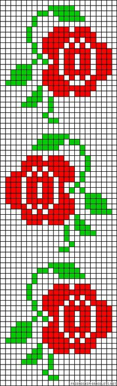 This Pin was discovered by HUZ Cross Stitch Charts, Cross Stitch Designs, Cross Stitch Patterns, Bead Loom Patterns, Beading Patterns, Knitting Patterns, Cross Stitching, Cross Stitch Embroidery, Bordado Tipo Chicken Scratch
