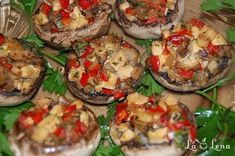 Raw Food Recipes, Vegetarian Recipes, Healthy Recipes, Healthy Food, Baked Potato, Tofu, Stuffed Mushrooms, Lunch, Dinner