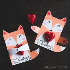 Valentine Fox Huggers – Kudzu Monster