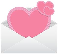 Envelope with Pink Hearts Transparent PNG Clip Art Image Valentines Day Coloring, App Icon, Betty Boop, Art Images, Envelope, Mickey Mouse, Clip Art, Scrapbook, Drawings
