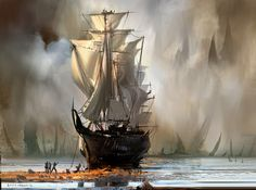 Ship by annisahmad.deviantart.com on @deviantART