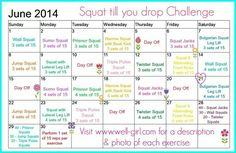 Squat 'til You Drop Challenge