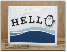 Hello | by karen @ carefree creations
