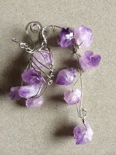 Amethyst pendant, RHY Collection.