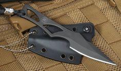 Spartan Blades Enyo - Black - Neck Knife Fixed Blade