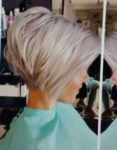 creative short Pixie Haircuts fashion trend – Page 5 – Dazhimen - New Site Medium Hair Cuts, Short Hair Cuts, Medium Hair Styles, Short Hair Styles, Short Pixie, Hat Styles, Short Shag, Love Hair, Great Hair