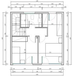 Planos de casas pequeñas y económicas | Construye Hogar