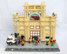 Lego MOC market street & others