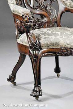 Lion Chair http://rarevictorian.com/wp-content/uploads/2009/03/john-henry-belter-neal-auction-lion-chair.jpg