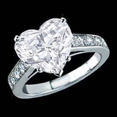 Heart Shape Diamond Ring 2.00ct  I'm Ready For An Upgrade!