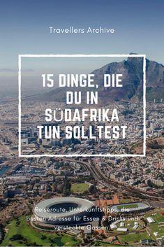 SÜDAFRIKA BACKPACKING: Wir verraten dir unsere liebsten Ecken, Plätze und Hotels in Südafrika, schicken dich auf unentdeckte Märkte und geben dir wichtige Reisetipps für Südafrika. Jetzt musst du nur noch deinen Backpack packen!  #reisen #südafrika #afrika