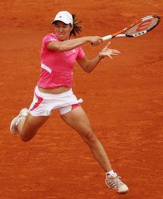 10 Tennis Forehand Images Tennis Forehand Tennis Justine Henin