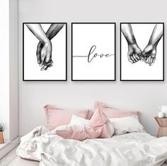 decor living room pictures Nordic Poster Black And White Holding Hands Picture Canvas Prints Lover Quote Painting Wall Art For Living Room Minimalist Decor Holding Hands Pictures, Hand Pictures, Canvas Pictures, Hand Images, Abstract Pictures, Home Wall Art, Wall Art Decor, Canvas Wall Decor, Wall Art Bedroom