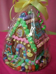 gingerbread house Easter