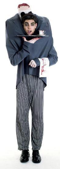 Disfraz Mayordomo sin cabeza