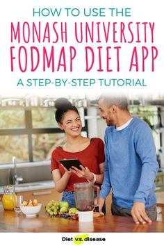 FODMAPs and the low FODMAP diet was discovered by researchers at Monash University. Monash have since released a FODMAPs phone app, which many now consider an essential resource. It contains the most comprehensive database of FODMAP-tested foods available (known as the Food Guide), as well as low FODMAP recipes, certified foods and other features. #dietitian #nutritionist #health Fodmap Diet, Low Fodmap, Nutrition Education, Nutrition Tips, Thyroid Diet, Vegetarian Protein, Diet Apps, Food Intolerance, Fodmap Recipes