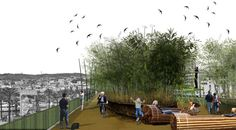 Bamboo Urban Metamorphosis by Oam Architecture