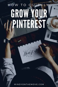 Within a month's time, I grew my Pinterest over 35x and continue to see growth each and every day. I hope that my tips on how I quickly grew my Pinterest can help you to grow yours just the same.  #bloggingtips #pinteresttips #pinterest #bloggingforbeginners #blogging101 #bloggertips #howtoblog #bloggergirl