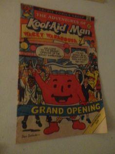 Vintage Archie Comics Group The Great Adventures of Kool-Aid Man 1988 find me at www.dandeepop.com