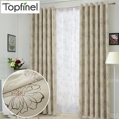 2015 New luxury modern shade blackout curtains for living room the bedroom kitchen room window curtain set blinds drapes