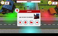 """The Driver"" - failed screen."