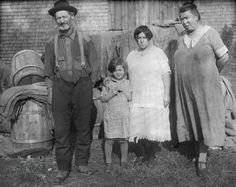 New England farm family at the height of the Great Depression