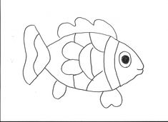 free animals fish printable coloring pages for kindergarten - Printable Colouring Pages For Toddlers