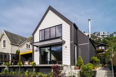 Lyttelton House on ArchiPro Designed by by Pynenburg & Collins Architects Architects, The Neighbourhood, Home And Family, Homes, Urban, Mansions, House Styles, Outdoor Decor, Design