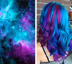 Cabelo azul http://makemebetter.com.br/tendencia-space-hair-o-cabelo-que-te-leva-para-o-espaco/
