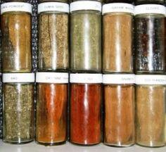 Bryanna Clark Grogan's Vegan Feast Kitchen/ 21st Century Table: COMMON SEASONING MIXES-- MADE IN YOUR OWN KITCHEN