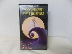 Vintage 1993 Tim Burton's The Nightmare by PfantasticPfindsToo, $5.99