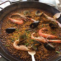 paella @ Xiringuito Escribà #foodies #Barcelona