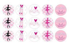 It's A Small WWW: Free Printable Ballerina Bottle Cap Image Design