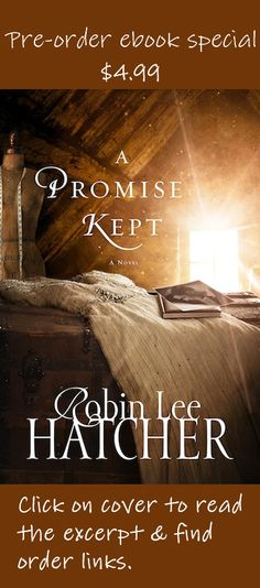 """Pre-order ebook special: $4.99  Click on the book cover to read an excerpt.   NYT best-selling author Francine Rivers says, """"A beautiful, heart-touching story of God's amazing grace, and how He can restore and make new that which was lost."""""""