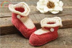 """Mary Jane Booties by Rae Blackledge2013-12-20 07:25 UploadDownload (53.81 KB)Finished SizesInfant 0-6 mos (6-12 mos)Foot Length: 3½ (4)"""" [8.9 (10.2)cm]"""