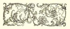 Image result for art nouveau line