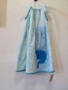 Girls Frozen Dress Blue Elsa Dress size 8/10 by chachalouise, $45.00 #elsa #frozen #dresses check out all our frozen dresses at https://www.etsy.com/shop/chachalouise?section_id=15560539&ref=shopsection_leftnav_9
