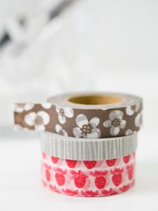 Washi tape from Lotta Jansdotter. Not sure what washi is, but I'm sure I could find a use for this.