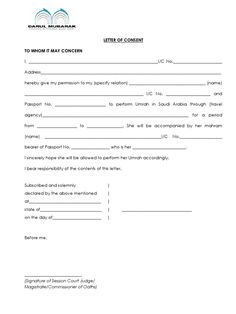 Letter Consent Docsharetips Application Form Example