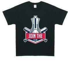 Chandail représentant le stade olympique de Montréal. (Vendu aux américains mais bref) A shirt representing the olympic stadium of Montreal. (Sold by the americans...)