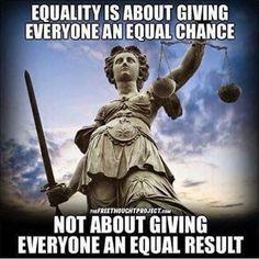 Equal chance
