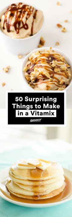 Get ready to use the super-blender in ways you didn't even know were possible. #greatist http://greatist.com/eat/vitamix-recipes