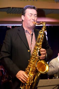 Dave Bishop, a great saxophone player, resides in UK. Played in Cliff Richard band. Dave got me a great seat at the Wembley Stadium a number of years ago.