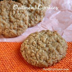 Brown Sugar Oatmeal cookies recipe