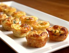 Kitchen Snaps: Mini Bisquick Quiches with Bacon, Onion & Cheese.....